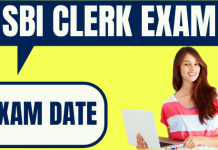 SBI Clerk Exam Date