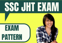 SSC JHT Exam Pattern