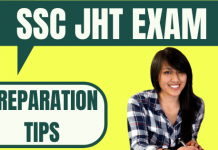SSC JHT Preparation Tips