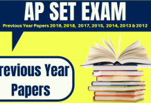 APSET Previous Year Question Papers