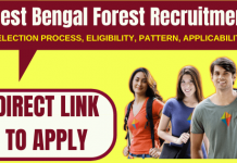 West Bengal Forest Recruitment