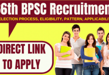 66th BPSC Recruitment