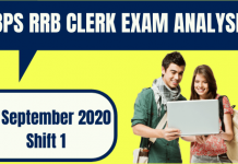 IBPS RRB Office Assistant Exam Analysis 26th September 2020 For Shift 1