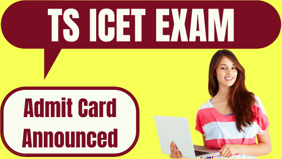 TS ICET admit card