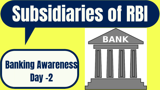 Banking Awareness Question