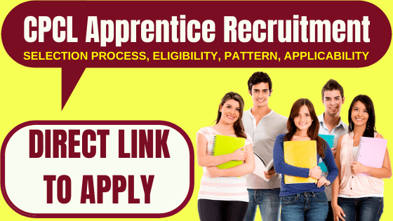 CPCL Apprentice Recruitment