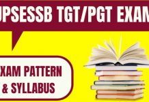 UP TGT PGT Syllabus