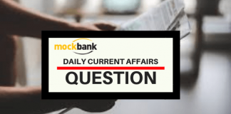 Current Affairs Questions 31 January 2021